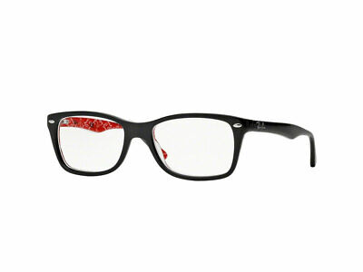 69b1f5187d RAY-BAN RX5228 2479 50mm Top Black On Texture Red Eyeglasses ...