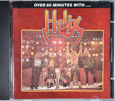Over 60 Minutes with...by Helix [Canada - EMI/Capitol/BMG - C2 93571] - NM