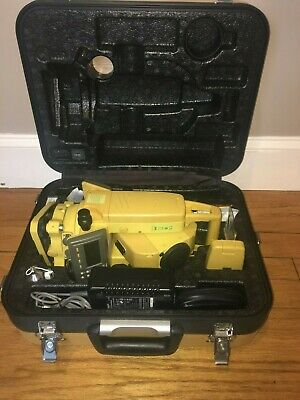 """Topcon Total Station GPT-3205NW 5"""" Reflectorless - perfect transmission survey!"""