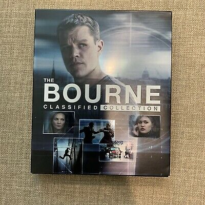 The Bourne Classified Collection Blu Ray