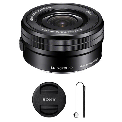 Sony SELP1650 16-50mm Power Zoom Lens w/ Accessories
