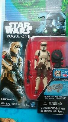 Star Wars Shore trooper Vintage Custom Mini Action Figure w Case 219 Rogue One