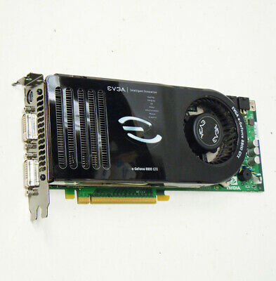 NVidia EVGA e-GeForce 8800 GTX 768MB PCI-E Dual DVI TV-Out Video Grapics Card