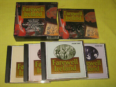 A Farewell To Ireland 4 CD Album Box Set Celtic Folk World & Country