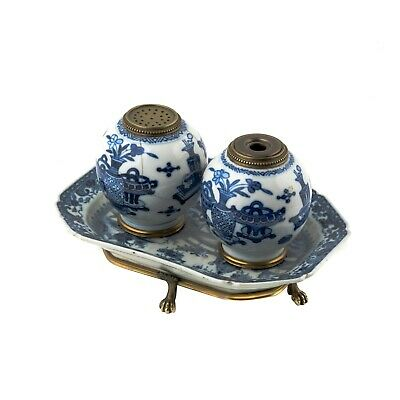 Chinese Blue & White Porcelain INK WELL