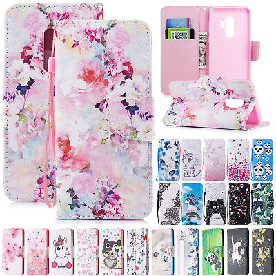 For Samsung Galaxy A30 A50 A20 A40 70 Wallet Leather Stand Flip Phone Case Cover