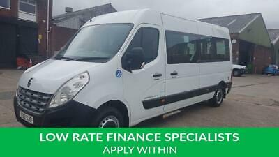 2012 12 Renault Master 2.3 Lm35 Dci S/R 1D 100 Bhp 15  Seater Mini Bus With Ramp