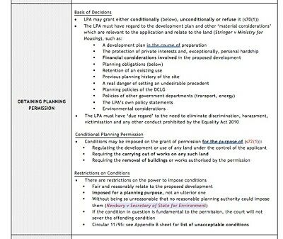 Advanced Real Estate/ Commercial Property Elective LPC Ulaw Notes Distinction