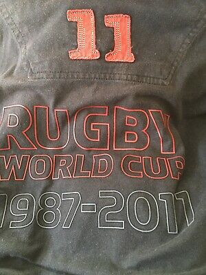 New Zealand rugby world cup shirt