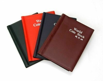 Coin Holder Collection Album Storage Money Collecting Penny Pockets Book HOT!120
