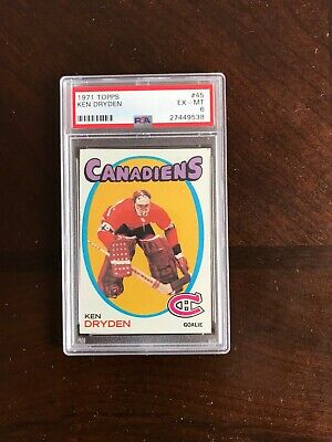 1971 72 O Pee Chee 45 Ken Dryden Montreal Canadiens Rc