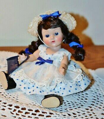 Sweet Vogue STRUNG GINNY 1952 LUCY HTF Blue Polka Dot COMPLETE #39 TINY MISS