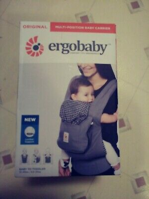 Ergobaby Performance 3 Position Baby Carrier Ventus Graphite