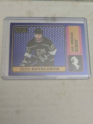 2018-19 OPC Platinum Blue Rainbow Retro #/149 Ilya Kovulchuk LA Kings
