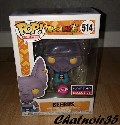 cce82ed8c62b9 Funko Pop DBZ BEERUS Flocked 514 - Neuf / Funko pop Dragon Ball Super