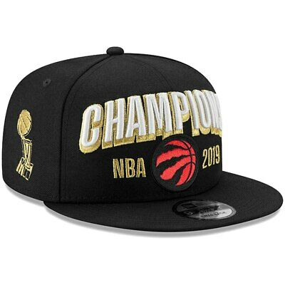 Toronto Raptors New Era 9FIFTY NBA Finals Locker Room Champions Snapback Hat Cap