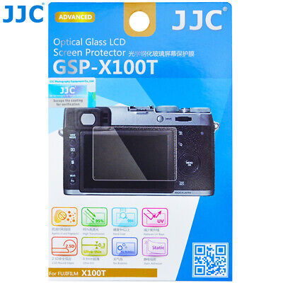 JJC GSP-X100T Optical GLASS LCD Screen Protector Film for Fujifilm X100T Camera