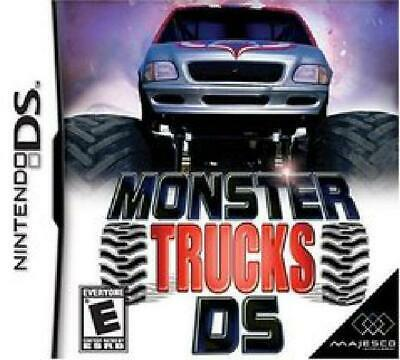 Monster Trucks DS Nintendo DS Cartridge ONLY --ACTUALLY Cleaned & Tested!