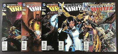 DC Comics New 52 Justice League Untied Comic Book Lot. FN+