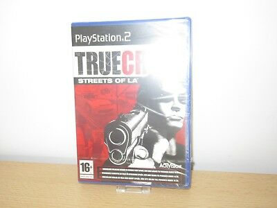 New And Sealed Playstation 2 True Crime Streets Of LA PS2 pal version