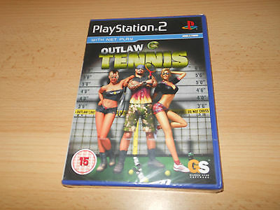 Outlaw Tennis Sony Playstation 2 PS2 NEW SEALED pal