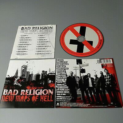 Bad Religion - New Maps Of Hell JAPAN CD EICP-800 VG #1164