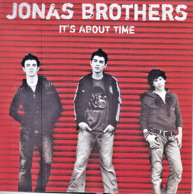 JONAS BROTHERS It's About Time CD