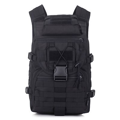 40 L Laptop Rucksack Tactical Military Backpack Nylon Sport Outdoor Assault Pack