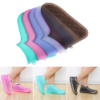 Waterproof Protector Shoes Boot Cover Rain Shoe Covers Anti-Slip Thicken New