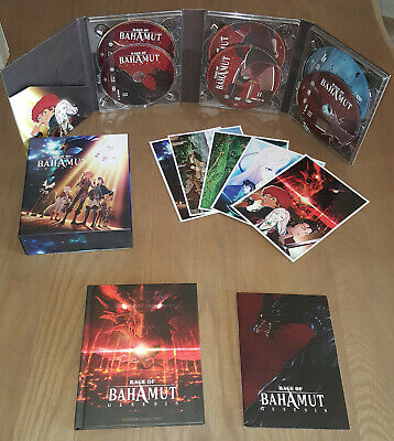 Rage of Bahamut Coffret collector Bluray + DVD+ OST