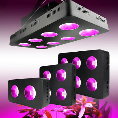 Full Spectrum 500/1500/2000W COB LED Grow Light Lamp Hydro Plant Herb Veg Flower