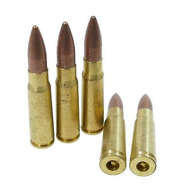 Battleaxe Airsoft 7.62 Dummy Inert Bullets 5 Pack Softair Fancy Dress