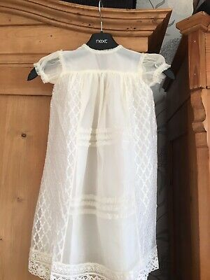 Vintage Christening Dress 60 Years Old But In Perfect Condition