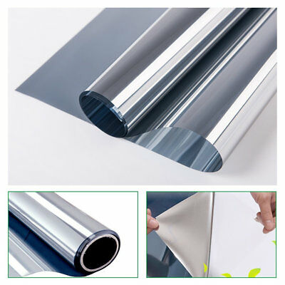 Silver Window Film Mirrored Solar Tint Reflective Window Tint House building use