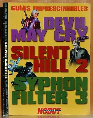Guias Imprescindibles -Devil May Cry (1 Parte) - Silent Hill 2 - Syphon Filter 3