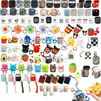 Disney Cartoon Silicone Airpod Protective Case Cover Skin For Apple Airpods S4
