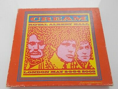 "2005 Cream  ""Royal Albert Hall London May 2005""   Reprise 2CD"