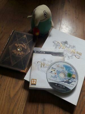 Ni No Kuni Wrath of the White Witch PS3 Wizards Edition + Guide