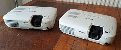 Job lot of 2 Epson EB-X7 LCD Projectors 2200 lumens, XGA, good condition & image