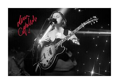 Lewis Capaldi 1 A4 signed photograph poster. Choice of frame