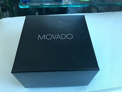 Brand New 100% Authentic MOVADO Watch Gift Box with Warranty Booklet
