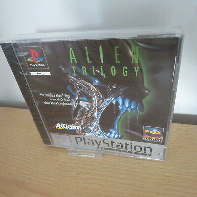 Alien Trilogy Sony PlayStation 1, ps1 new sealed pal version