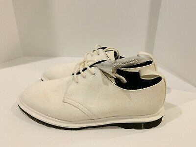 DR. MARTENS X Norse Projects Steed NP White Suede Made In