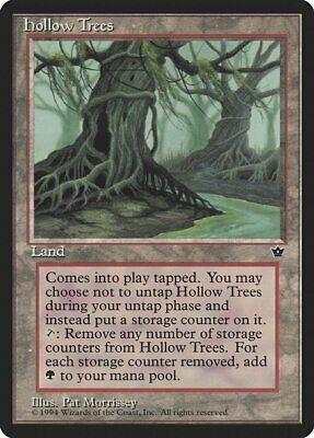 Hollow Trees Fallen Empires NM Land Rare MAGIC THE GATHERING MTG CARD ABUGames
