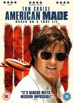 American Made (with Digital Download) (DVD, 2017) *NEW/SEALED* FREE P&P