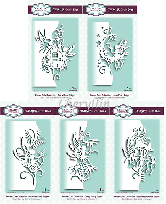 CREATIVE EXPRESSIONS Paper Cuts Collection - Fairy Edger Die - June 2019 NEW