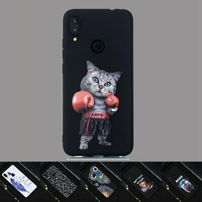For Xiaomi Redmi Note 7 7S 6 Pro 5 4 Soft Silicone Painted TPU Back Case Cover