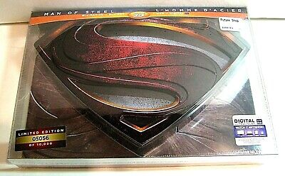 Man Of Steel blu-ray metal case from Canada*,no steelbook.New and sealed.