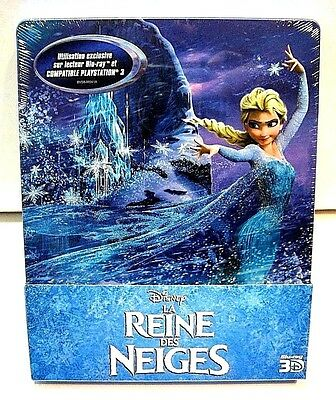 Disney Frozen from France* 3D blu-ray steelbook.New and sealed.