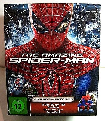 The Amazing Spider Man box set from Germany* : steelbook+comic book+figurine.New